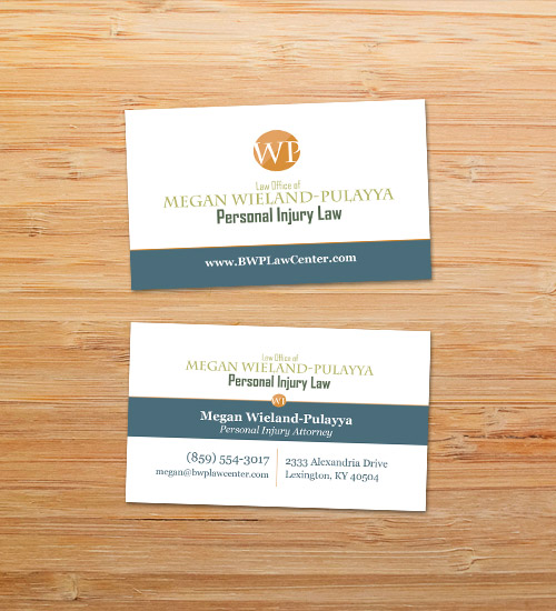 BWP Law Center | Business Card Design
