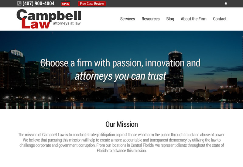 Campbell, PA | Specializing in Foreclosure & Whistleblower Law