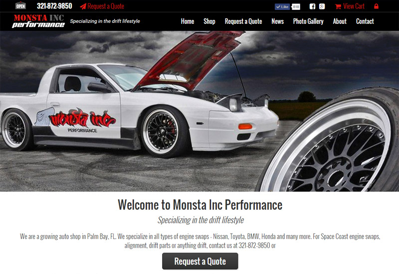 Monsta Performance Inc | Engine Swaps, Alignment and Anything Drift
