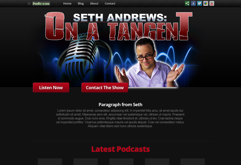 Seth Andrews | Author, Speaker, Host of The Thinking Atheist Podcasts and Community